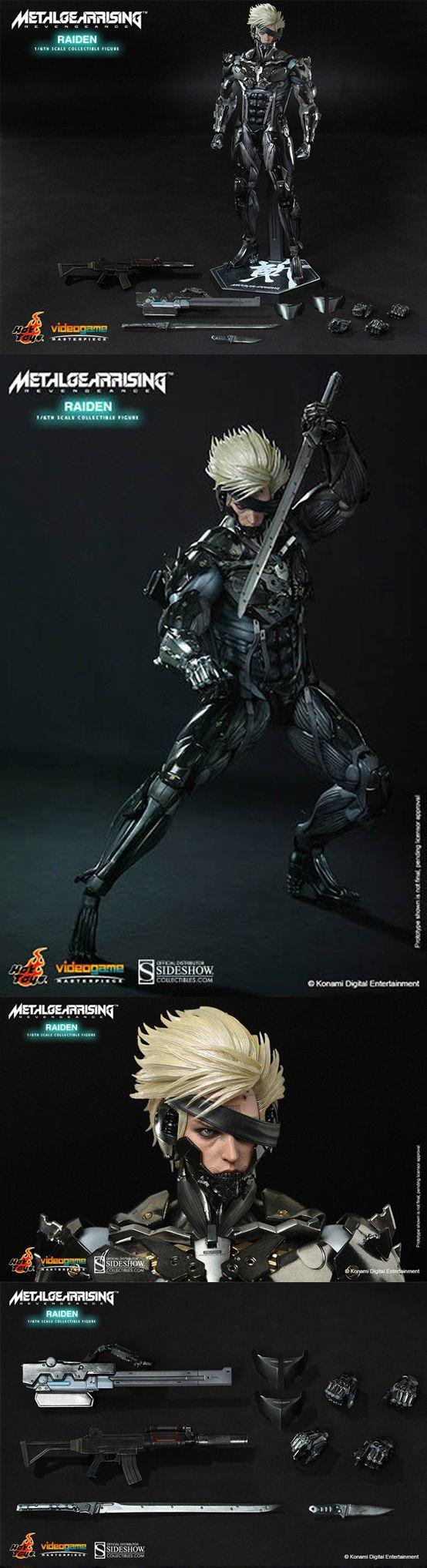 Figura de Metal Gear Rising - Metal Gear Rising Figure  #MetalGear #EdicionColeccionista #CollectorsEdition