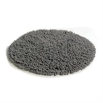 Rasta round rug - graphite grey - Etol Design