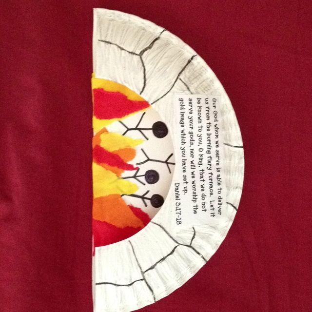 Preschool Craft For The Fiery Furnace