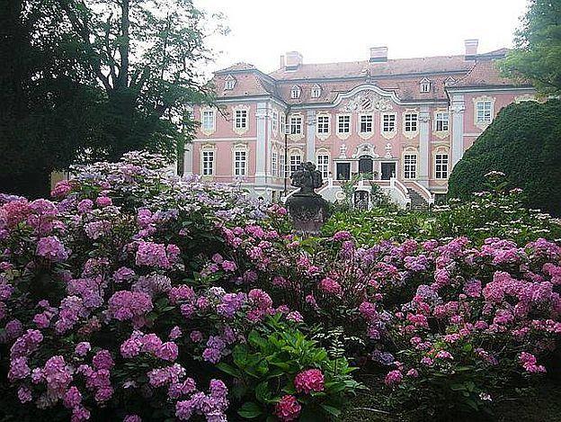 Rokokoschloss Assumstadt, 74219 Möckmühl im Landkreis Heilbronn, Baden-Württemberg. © Gutsverwaltung Assumstadt