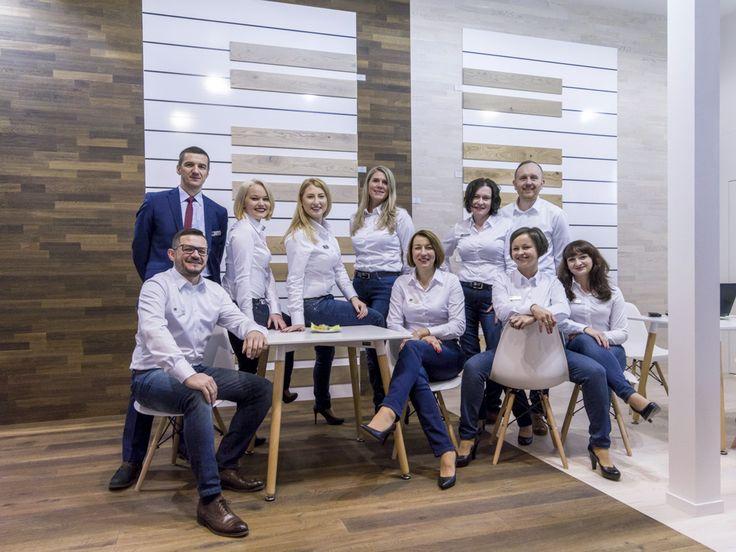 Baltic Wood's team at DOMOTEX 2017