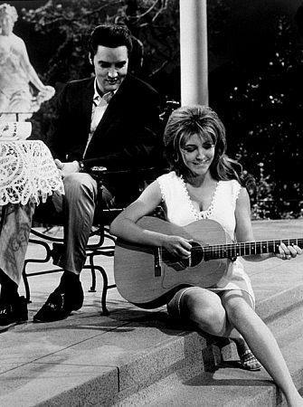 Elvis Presley and Michele Carey in Live a Little, Love a Little