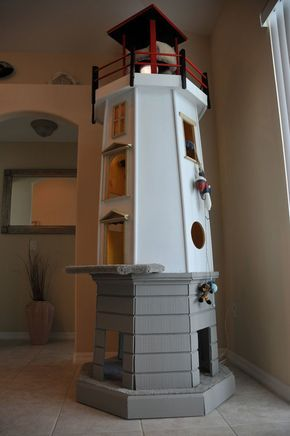 An iconic item for any room, this Lighthouse provides cats with a perfect vantage point of their surroundings