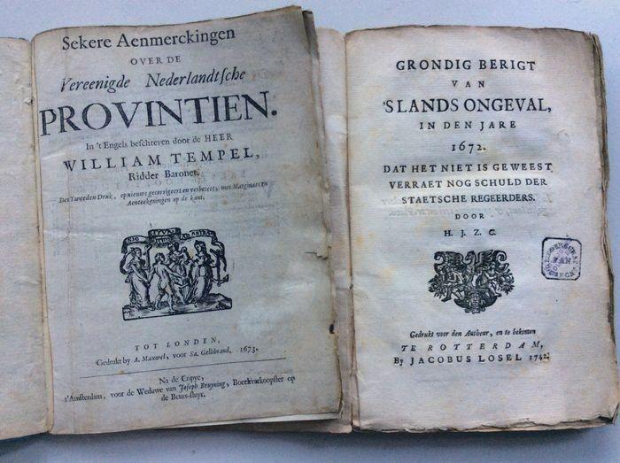 William Temple Sekere Aenmerckingen Over De Vereenigde