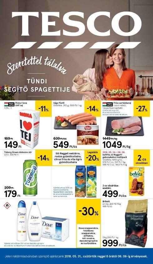TESCO Akciós Újság 2018. 05.31-06.06-ig  Riska tej fcd0b285a0