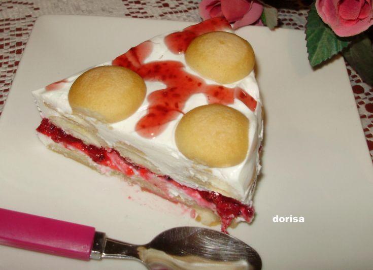 Fotorecept: Tvarohový nepečený dezert