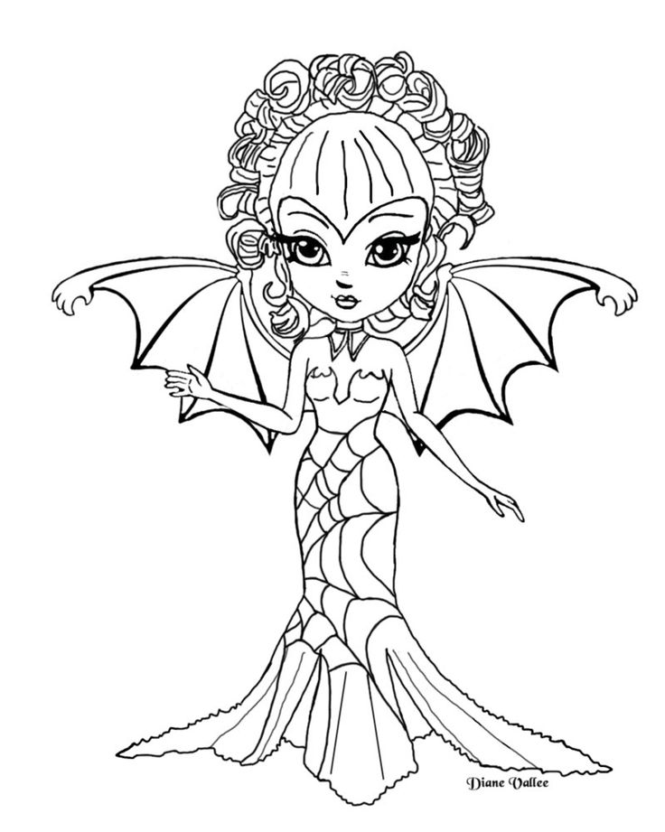 demon dragon coloring pages - photo#24