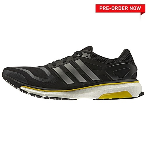 You put a lot of energy into your run, and the men's adidas Energy Boost  shoes give some of it back. Designed with an energy-returning boost™  midsole, ...