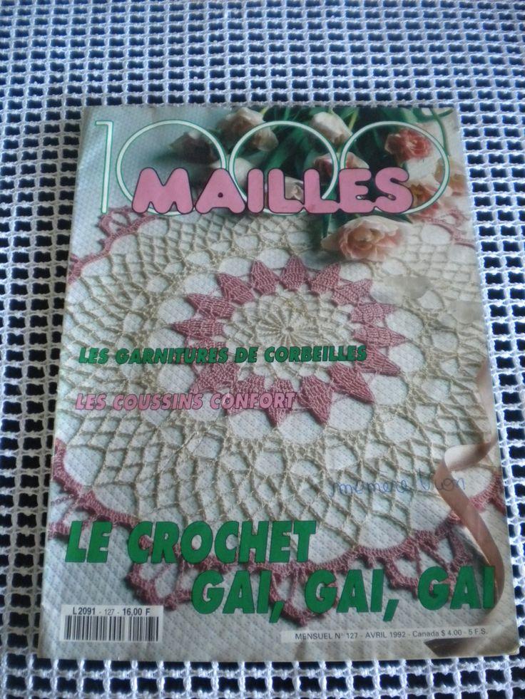 Catalogue de Crochet 1000 mailles : Matériel Crochet par l-atelier-de-nanie-tricot
