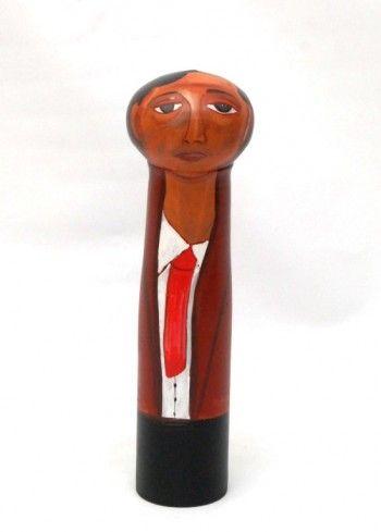 Χειροποίητη κεραμική κούκλα 30 cm