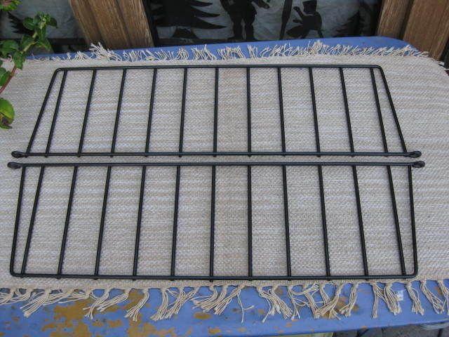 2x string regal leiter 70x19 5cm drahtregal regalsystem element 60er 70er in antiquit ten. Black Bedroom Furniture Sets. Home Design Ideas