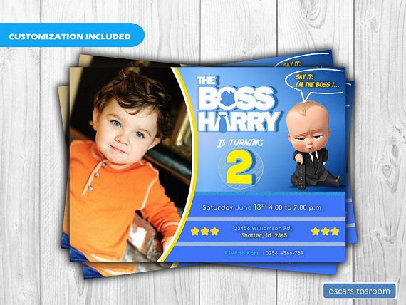 9 best the boss baby birthday party images on Pinterest Adobe