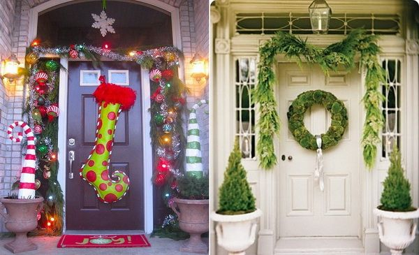 Christmas Porch Decorating Ideas For 2012 01 Holiday