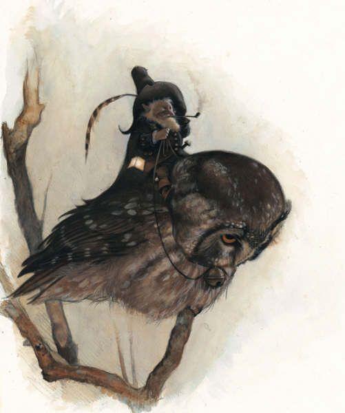 Книжные герои, нарисованные от всей души художником Jean Baptiste Monge   рисунок искусство   art искусство автор
