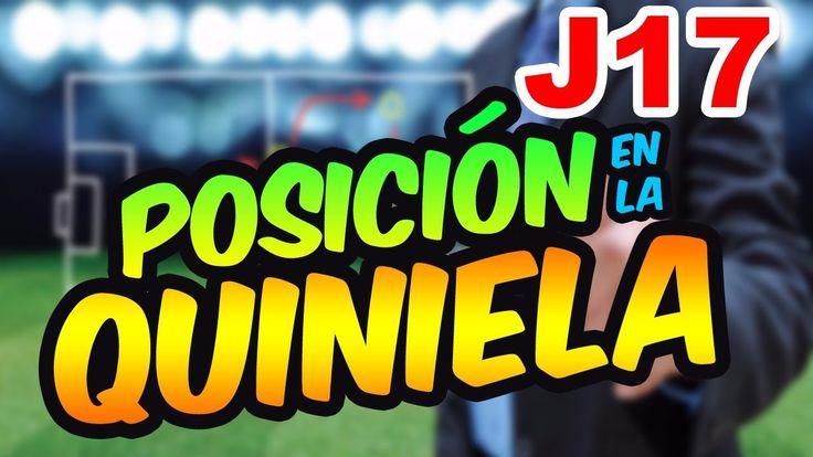 Posición Quiniela Jornada 17 Liga MX ⚽  Quiniela MX
