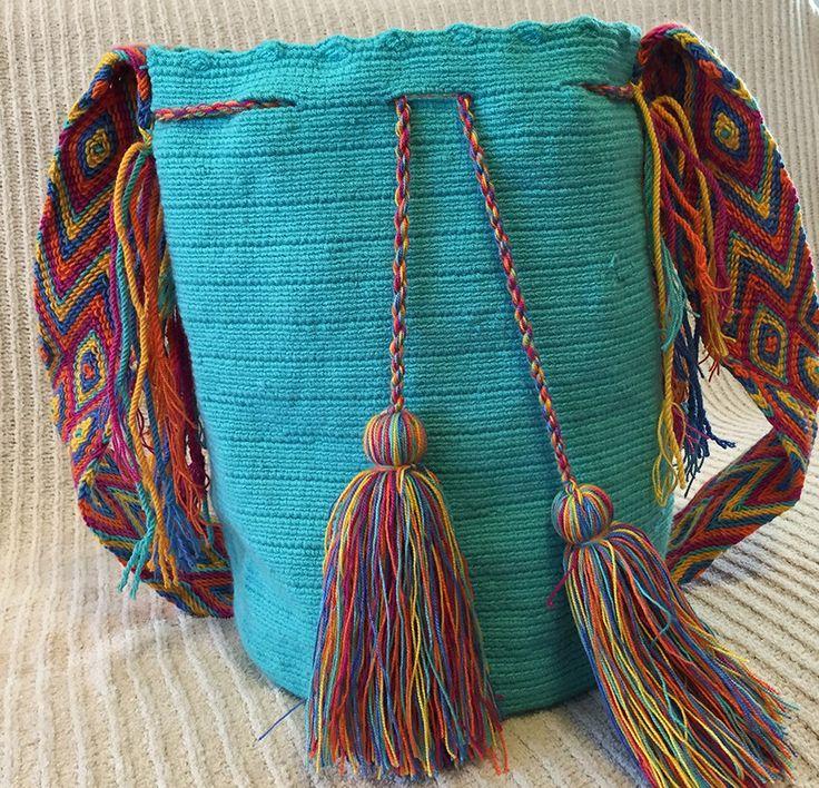 A personal favorite from my Etsy shop https://www.etsy.com/listing/227487063/wayuu-bag-mochila-hand-woven-ship