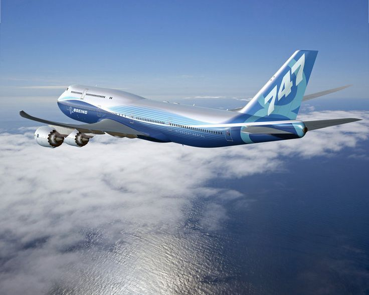Boeing 747-8 intercontinental v letu, nová letadla vektor - ForWallpaper.com