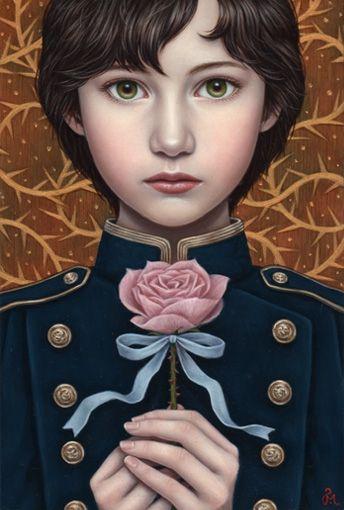 Thorns | Shiori Matsumotoノスタルジックな少女たちの世界を描く松本潮里の絵画作品集