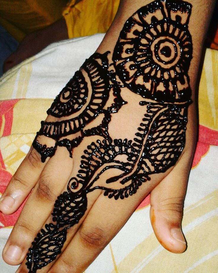 My mehadi design