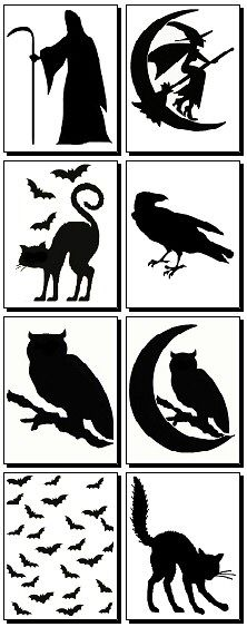 Free Halloween pumpkin carving templates. Definitely doing the owl one this Halloween.
