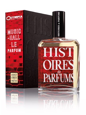 Olympia Music Hall is an elegant fragrance designed to evoke an exciting evening at the iconic concert venue,