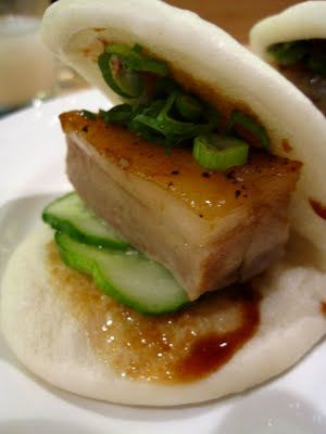 Sergio Vitale Chef/ Owner of Chazz in Baltimore personally recommened these. Pork Buns (Momofuku NYC)...still haven't tried them yet: ((