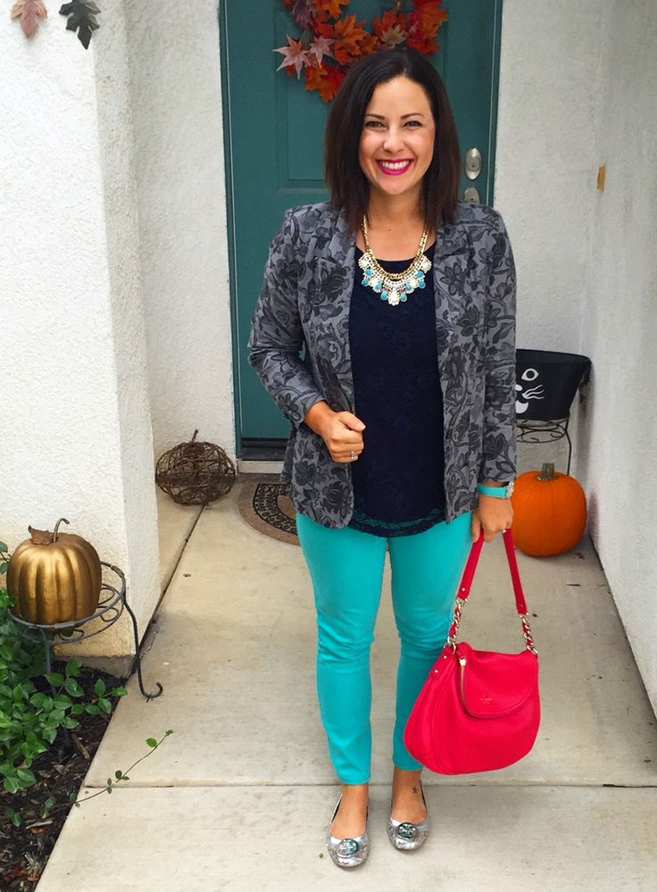 Best 25+ Teal Pants Outfit Ideas On Pinterest