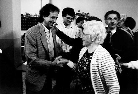 """Vista previa de '' - Ajuntament de Girona"""" Joan Manuel Serrat. Suport a Joaquim Nadal. Acte electoral del PSC. Eleccions 26 N."""