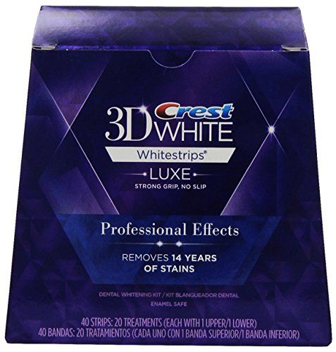 Crest 3D White Luxe Whitestrips Professional Effects - Teeth Whitening Kit 20 Treatments Crest http://www.amazon.com/dp/B00336EUTK/ref=cm_sw_r_pi_dp_LTssvb0BXYPHM