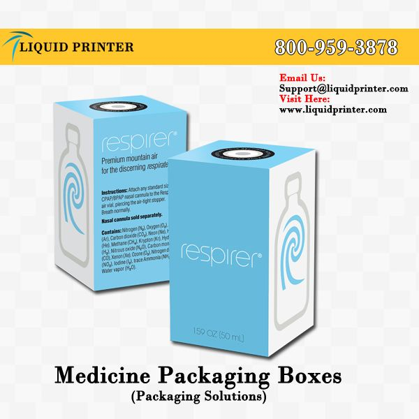 Printed #MedicineBoxes with full color printing service.