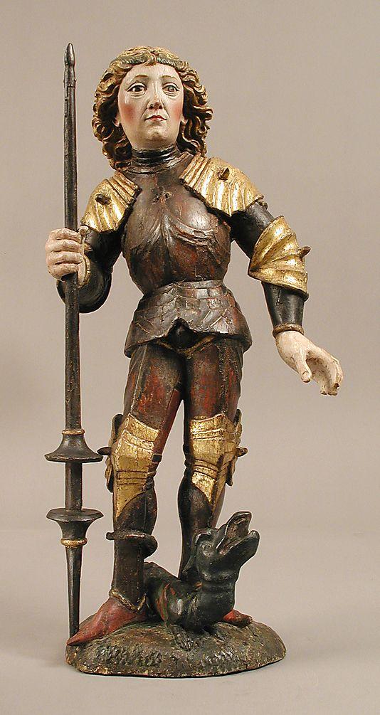 Saint George and the Dragon, Austria o sur de Alemania. (1475)