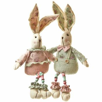 88 best easter gifts images on pinterest baby gifts easter gift these delightful bunnies are wearing fetching floral outfits and would make an ideal easter gift for a little girl negle Choice Image