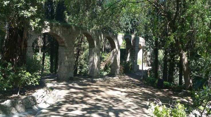 Some Of The Amazing Stonework which dates back - in the Beautiful Setting Of Rodini Park In Rhodes Greece  https://theislandofrhodes.com/rodini-park-in-rhodes
