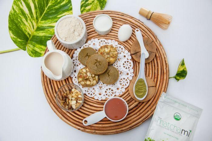 Matcha Banana Muffins - Organic Matcha Green Tea Recipes
