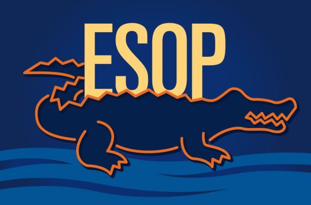Bears, sharks and alligators can be scary. But why would you run from an ESOP?  t14090901ds #ESOP employee stock ownership plan