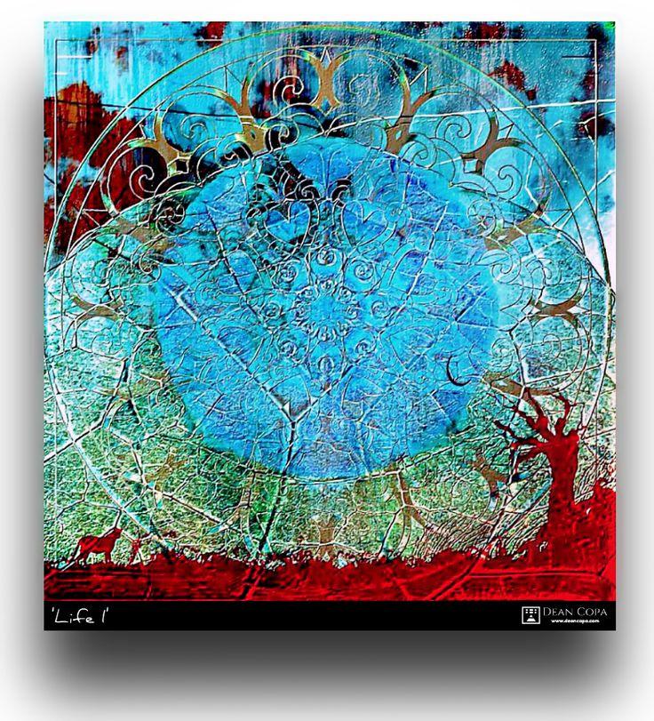"""""""Life I"""" 2013 by Dean Copa.   A milestone Artwork. Instagram : http://www.instagram.com/dean_copa   #DeanCopa #modernart #contemporaryart #fineart #finearts #artoftheday #artdiary #kunst #art #artcritic #artlover #artcollector #artgallery #artmuseum #gallery #contemporaryartist #emergingartist #ratedmodernart #artspotted #artdealer #collectart #newartist"""