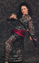Sword with Brass Handle & Hard Vinyl Case - Large Balanced Sword for Belly Dance - Artemis Imports - Belly Dance Store