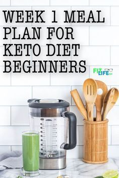 If you're a keto diet beginner, you need a week 1 meal plan to help you get star…