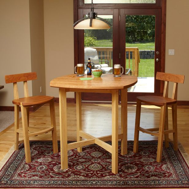 pub table and chairs woodworking plan furniture tables furniture seating