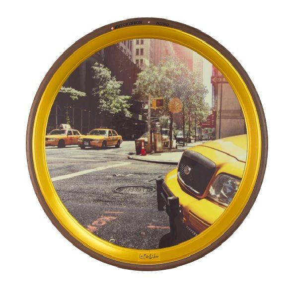 """Cuadro """"Taxi NY""""   Bike&Home"""