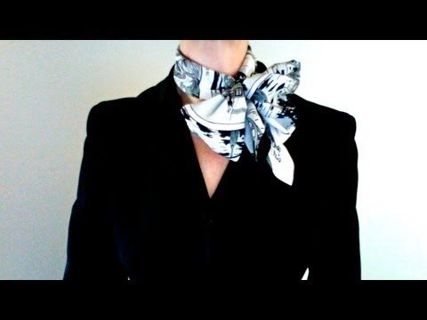 How-to wear scarves - Hermes scarf in a twist wrap
