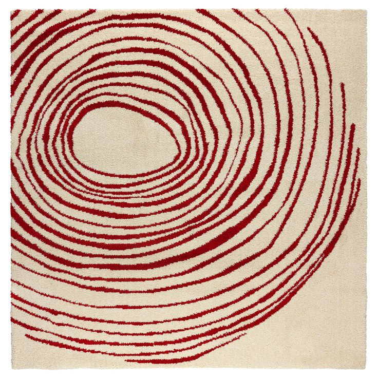 """Area rug? EIVOR CIRKEL Rug, high pile $129.00 Product dimensions Length: 6 ' 7 """" Width: 6 ' 7 """" Surface density: 10 oz/sq ft Pile coverage: 0.00 oz/sq ft Pile thickness: ¾ """" Knots/yd: 1 pack"""