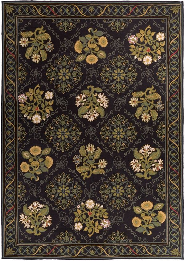 Awesome Black Needlepoint Rugs Enliven Dolce U0026 Gabbanau0027s F/W 2012 Fashions