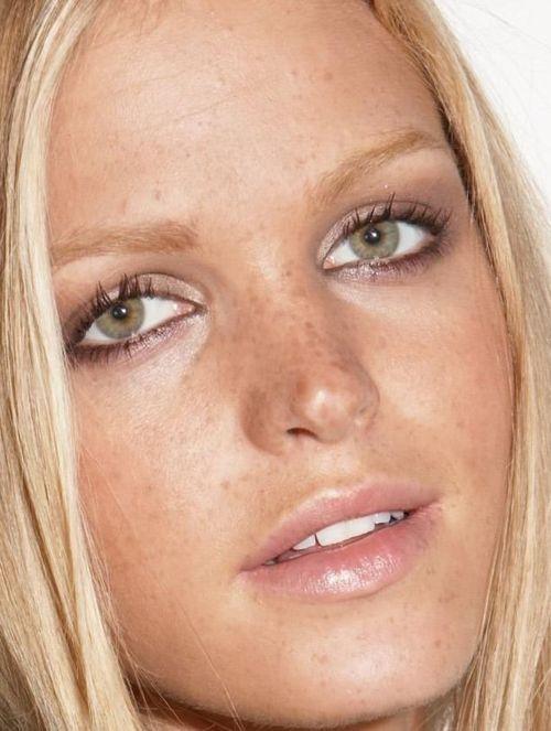 erin heatherton subtle shimmery eyes natural pink lips