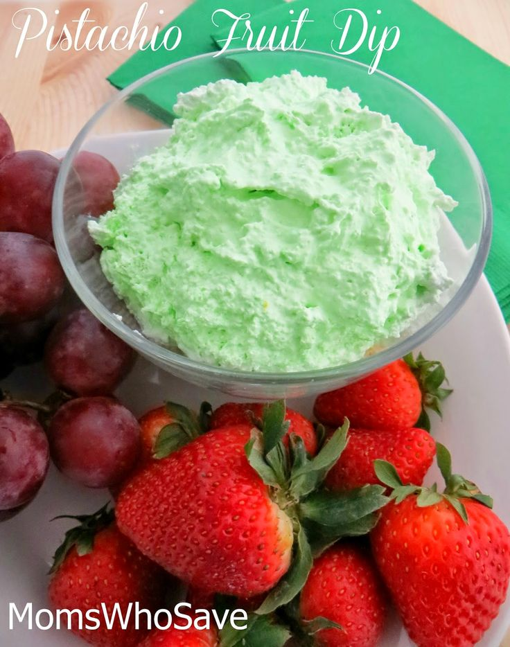 Here's an easy recipe for a delicious fruit dip. Try this light and fluffy pistachio fruit dip with just about any of yo…