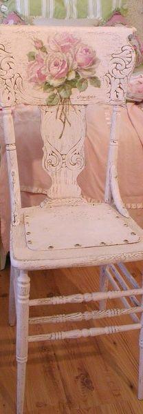 Pink Vintage Chair