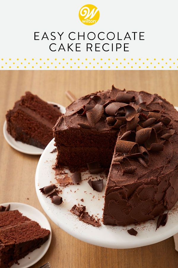 Chocolate Cake Recipe In 2020 Cake Recipes Chocolate Cake