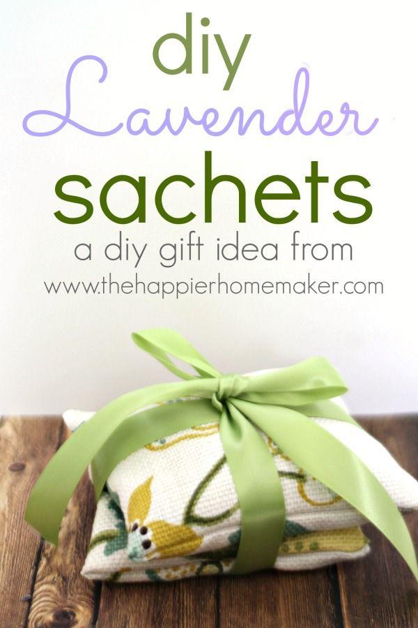 Homemade Gift: DIY Lavender Sachets