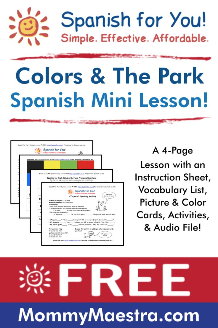 Pin on * Fantastic Spanish Resources