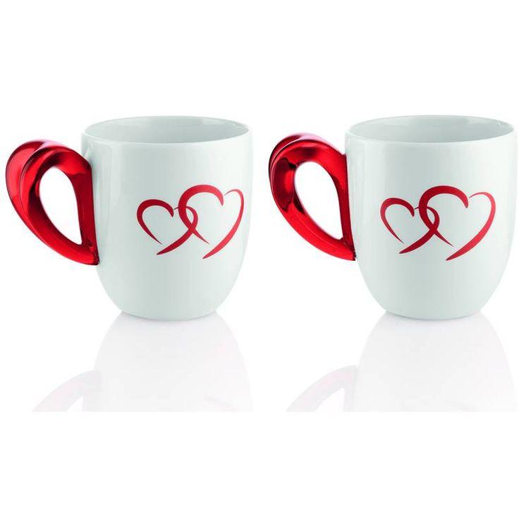 Guzzini 26790065 Mug Love confezione 2 Pezzi